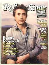 ROLLING STONE MAGAZINE ISSUE 1104 ROBERT DOWNEY JR GREEN DAY KESHA MAY 13 2010!!