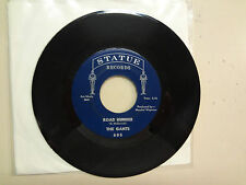 "GANTS:Road Runner 2:16- My Baby Don't Care 2:24-U.S. 7"" 1965 Statue Records 605"