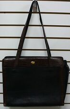 BALLY Black and Brown Leather Bag