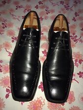 Paul Smith Black Leather  Hand Crafted Oxford Shoe, Uk 8, Eu 42