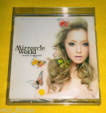 MADE IN JAPAN:AYUMI HAMASAKI - Mirrorcle World CD Single,TYPE B,JPOP,Ayu,+ OBI