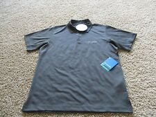 BNWT Columbia New Utilizer Polo Shirt, Men, M, Green/grey, Omni-wick/shade, $50