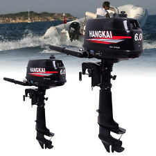 Outboard Motor  Boat Outboard Engine Water Cooling System 6HP 2-Stroke USA sale!