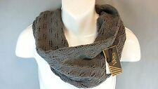 NWT Vans off the Wall Women's Grey Infiniti Neck Cowl Scarf