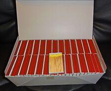 100 cajas, aprox. 2000 cerillas, cerillas, cajas