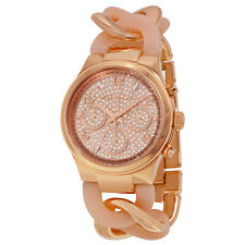 Michael Kors Runway Twist  Rose Gold-tone Ladies Watch MK4283