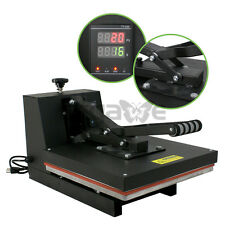 "15"" x 15 ""DUAL LCD DIGITAL Heat Press Machine,T-shirts, HTV Transfer Sublimation"