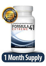 Formula41 Extreme - 1Month-Supply Male Enhancement - Increase Size and Stamina