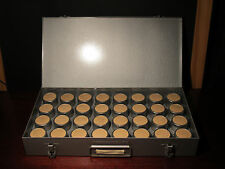 Vintage 35mm Film Negatives 1948-1954 Family Labelled Dated Metal Case,Canisters