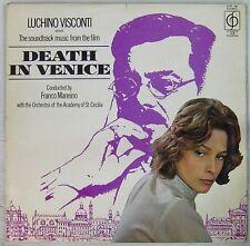 Mort à Venise 33 tours Lucino Visconti 1971