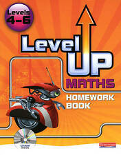 Level Up Maths: Homework Book: Level 4-6 by Pearson Education Limited (Mixed...