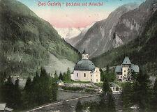 OLD POSTCARD - AUSTRIA - Bad Gastein - Buckstein und Anlauftal - 1910