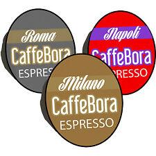 Bora 300 cialde capsule caffè compatibili lavazza a modo mio tre gusti intenso