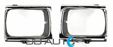 92-95 TOYOTA PICKUP TRUCK 4x4 HEADLIGHT BEZELS TRIM CHROME SET RH & LH NEW