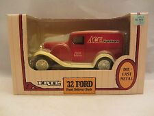 ERTL  '32 Ford Panel Delivery Locking Coin Bank   NIB  1:25 Scale  (11V)