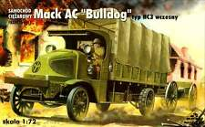 MACK AC BULLDOG TYPE HC-3 WW I TRUCK (AMERICAN EXPEDITIONARY CORPS MKGS 1/72 RPM