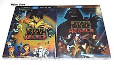 STAR WARS REBELS COMPLETE SEASONS 1-2 BLU RAY