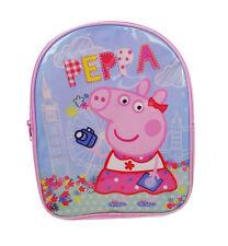 Peppa Pig Holiday Pink Backpack Child Toddler School Bag Rucksack