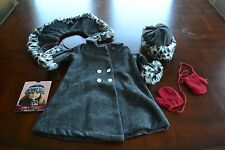 American Girl Nellie's Winter Coat with Cards