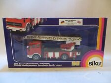 SIKU 2819 MERCEDES FIRE ENGINE WITH LADDER. 1:55 EXCELLENT PLUS/BOXED
