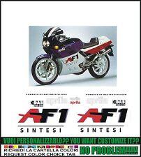 kit adesivi stickers compatibili af1 125 sintesi 1988