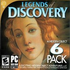 Legends Of Discovery 6 Pack PC Games Windows 10 8 7 Vista Computer hidden object