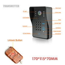 Smart Doorbell Wireless WiFi IR Camera Phone Door Video Intercom Security System