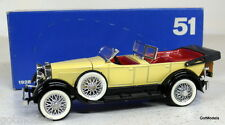 RIO 1/43 - 51 1928 LINCOLN SPORT PHAETON SCOPERTA DIECAST MODEL CAR
