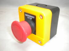 EMERGENCY STOP STATION TWIST UNLOCK BUTTON DANGER YELLOW CHINT  NP2-J174