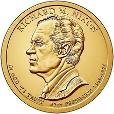 "2016 P Richard Nixon Presidential Dollar ""Brilliant Uncirculated"" Coin US Mint"