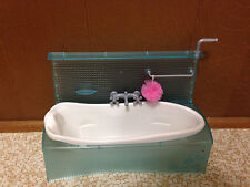 2007 Barbie Doll My House Bathtub Bath Tub Bathroom Home Furniture Accessory