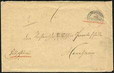 92/DP China Brief Feldpost KD Feldpostexpedition a 2/1901 nach Mannheim