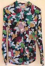BNWT Mamatayoe Womens Pattern Long Sleeve Multi Colour Top UK Sz Medium RRP £22