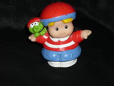 Fisher Price Little People Skater Eddie With Helmet for Skateboard