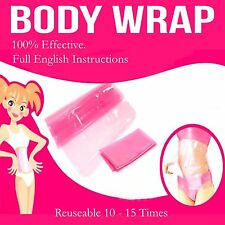 New Slimming Body Sauna Wraps Weight Loss Fat Burn Cellulite Stomach Tummy Waist