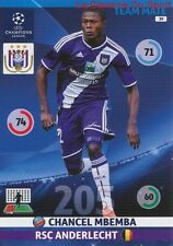 039 CHANCEL MBEMBA RSC.ANDERLECHT  CARD CHAMPIONS LEAGUE ADRENALYN 2015 PANINI