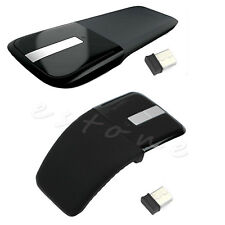Arc Touch Wireless Optical Mouse Mice 2.4GHz With USB Receiver For PC Laptop