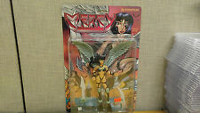 Rendition Toys Avatar Comics Mercy figure, Black Outfit, White Wings, New!