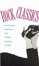 Rock Classics Audio Cassette Tape 1977 CBS The Byrds Mott the Hoople & More
