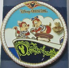 Disney DCL Anchor Chip N Dale Ship's Bow Pin **
