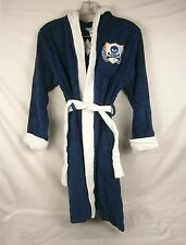 Company Kids Crest Appliqued Terry Robe Navy Blue Large size 8 NWD  951S 10551