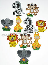 10 BABY SHOWER FAVORS GIFTS SAFARI DECORATION CENTERPIECE FOAM RECUERDOS MONKEY