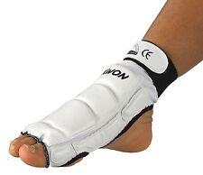 Fußschutz für TKD, Kickboxen, Karate, MMA usw. von KWON. Schw. u. weiß, Gr XS-XL