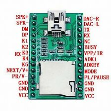 JQ650-28P U-disk Audio Player TF Card Voice Module MP3 Sound Module Arduino