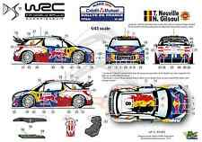 [FFSMC Productions] Decals 1/43 Citroën DS3 WRC Neuville Rallye de France 2012