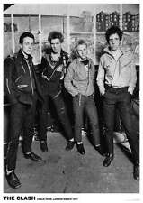 """The Clash POSTER """"Live London 1977"""" BRAND NEW Licensed Art"""