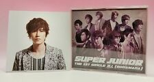CD+DVD+Photo card SUPER JUNIOR JAPAN THE 1ST SINGLE BONAMANA Kyuhyun