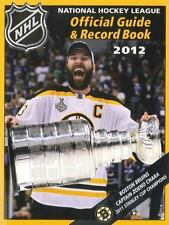 NHL Official Guide & Record Book 2012, National Hockey League