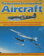 Encyclopedia of Aircraft Issue 214 North American XB-70 Valkyrie cutaway drawing