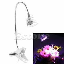 15W Flexibe Hydroponics Plant LED Grow Light Spectrum Red Blue UV Flower Lamp